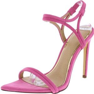Shoes - 🆕Barbie Pink Pointy-toe Ankle Strap Sandals